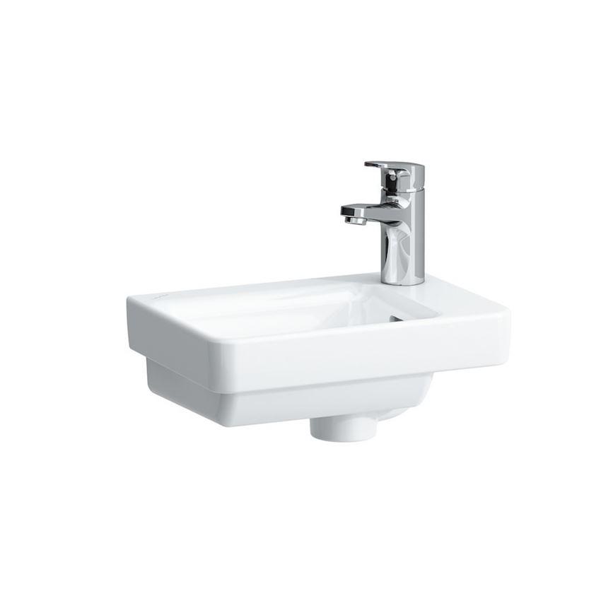Mała umywalka półka na baterię z prawej strony 36 cm Laufen Pro S