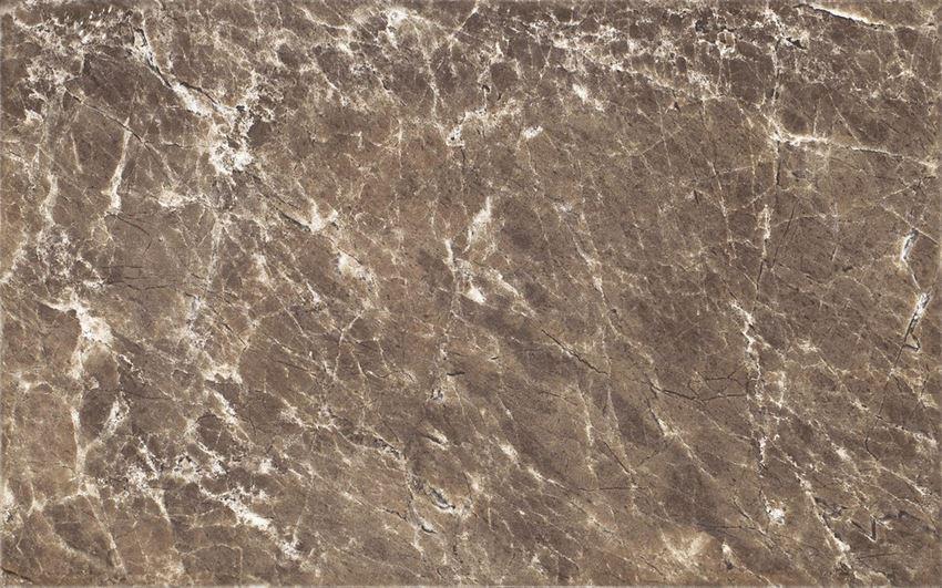 Płytka ścienna 25x40 cm Cersanit Piedra Ps202 brown