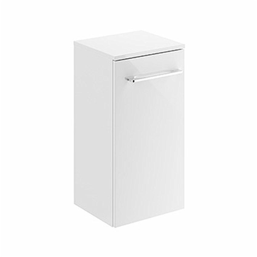 Szafka wisząca boczna biały połysk 33x65x29,7 cm Koło Nova Pro Premium