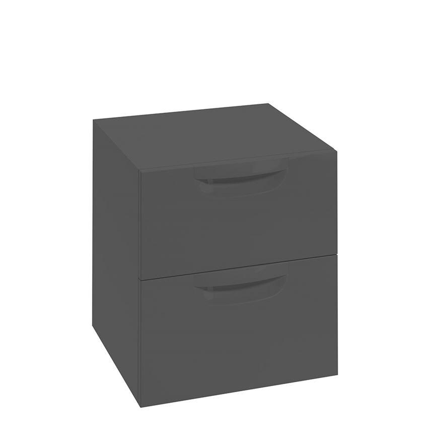Szafka wisząca grafit mat 45,1x50x42,8 cm Defra Flou B45
