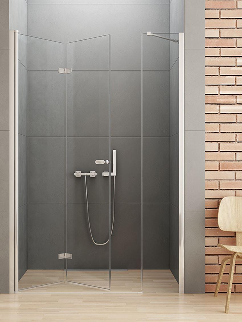 Drzwi prysznicowe łamane New Trendy New Soleo