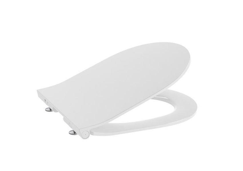 Deska WC Slim Compacto wolnoopadająca Round Roca Gap