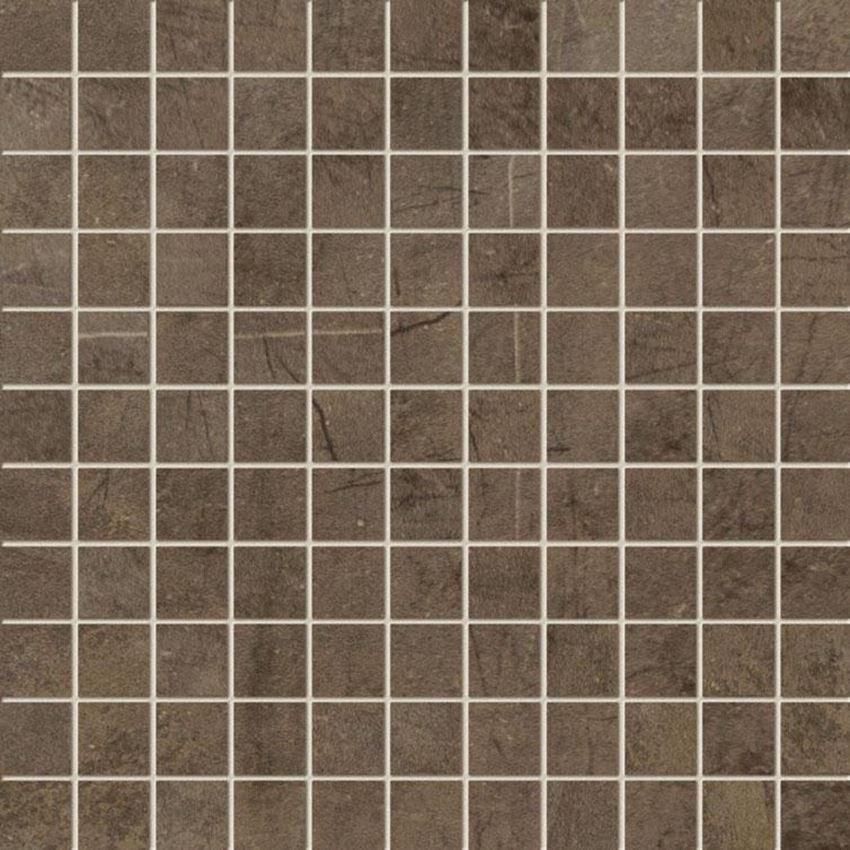 Mozaika ścienna 29,8x29,8 cm Tubądzin Palacio brown