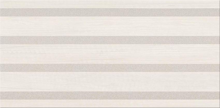 Płytka dekoracyjna 29,7x60 cm Cersanit Kersen cream inserto stripes