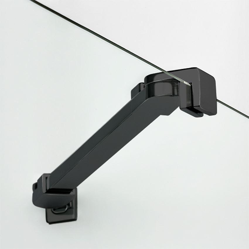 Wspornik kabiny prysznicowej New Trendy New Soleo Black