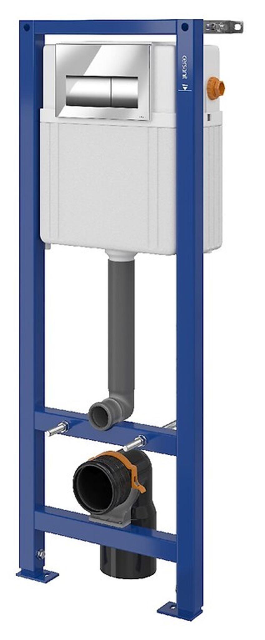 Stelaż podtynkowy do WC z przyciskiem Aqua Seria 0 Cersanit