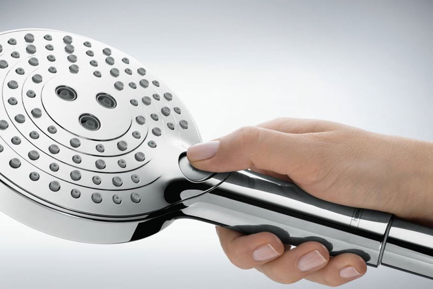 Punktowy zestaw prysznicowy  z wężem prysznicowym 125 cm Hansgrohe Raindance Select S