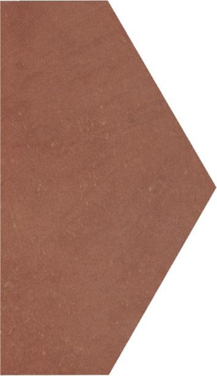 Dekoracja podłogowa 14,8x26 cm Paradyż Cotto Naturale Połowa