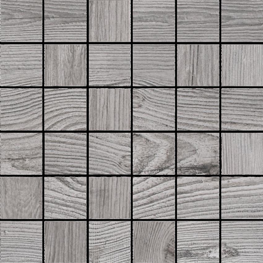 Mozaika uniwersalna 29,7x29,7 cm Cerrad Mozaika Cortone grigio