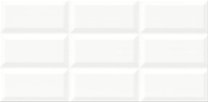 Płytka ścienna 29,7x60 cm Cersanit Ps604 white glossy structure