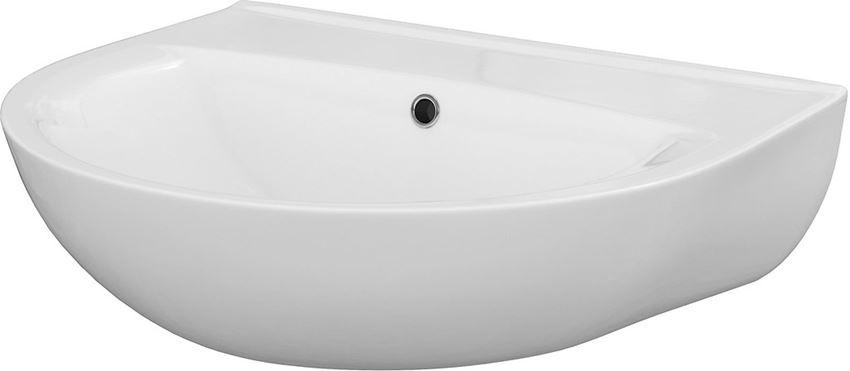 Umywalka wisząca 60 cm bez otworu Cersanit President