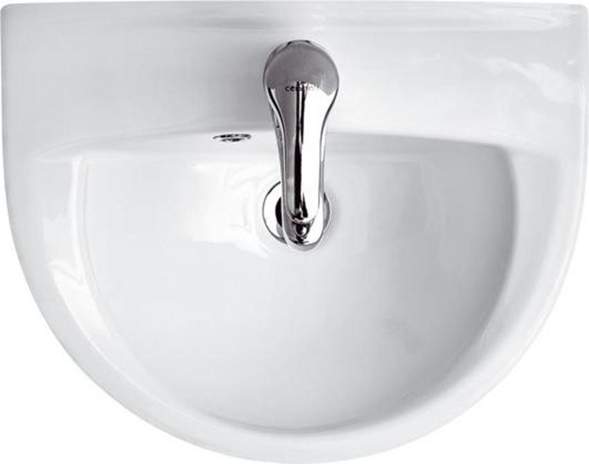 Umywalka wisząca 45 cm z otworem Cersanit President