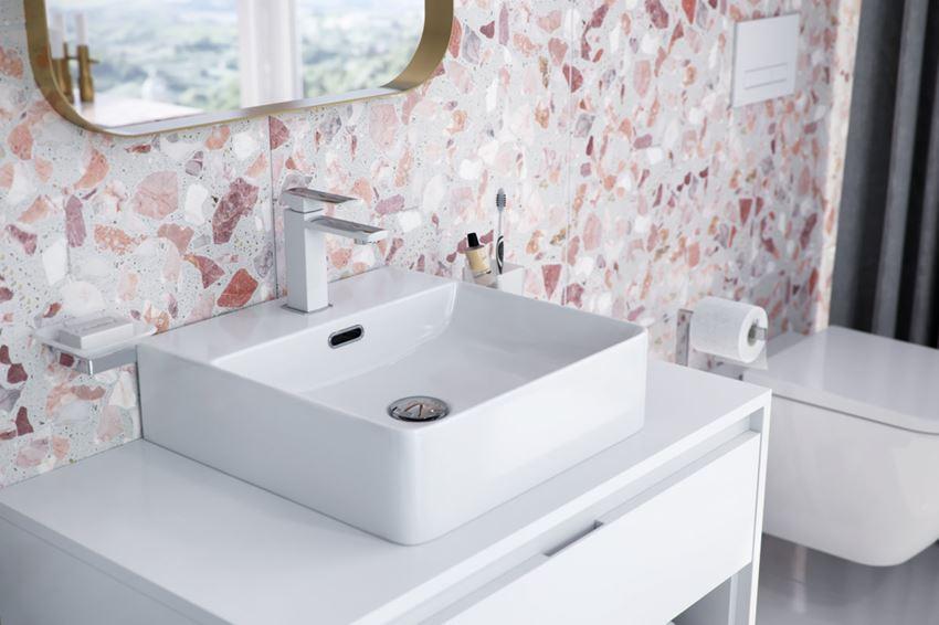 Umywalka nablatowa 42 cm Excellent Rima