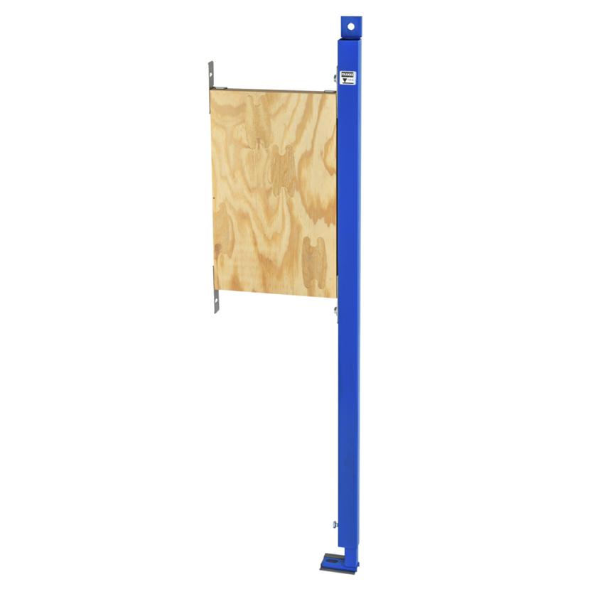 Stelaż podtynkowy do mocowania poręczy i uchwytów w łazienkach bez barier w układzie prawostronnym Franke Aquafix