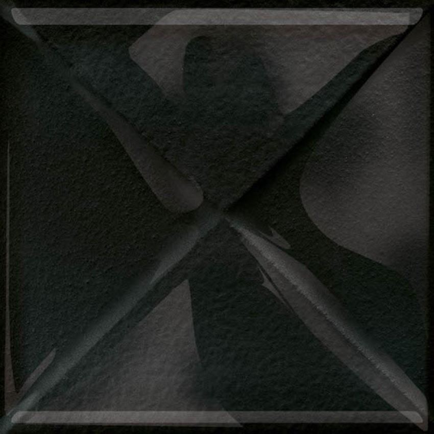 Dekoracja uniwersalna Opoczno glass black inserto new OD660-108