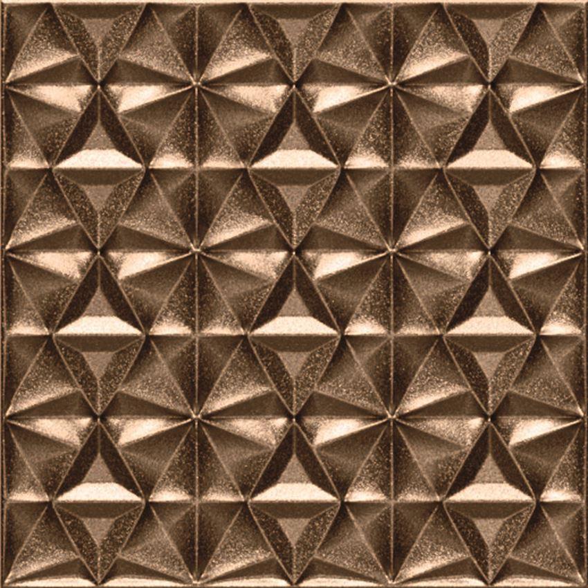 Płytka dekoracyjna 15x15 cm Azario Domi Bronze Gamma
