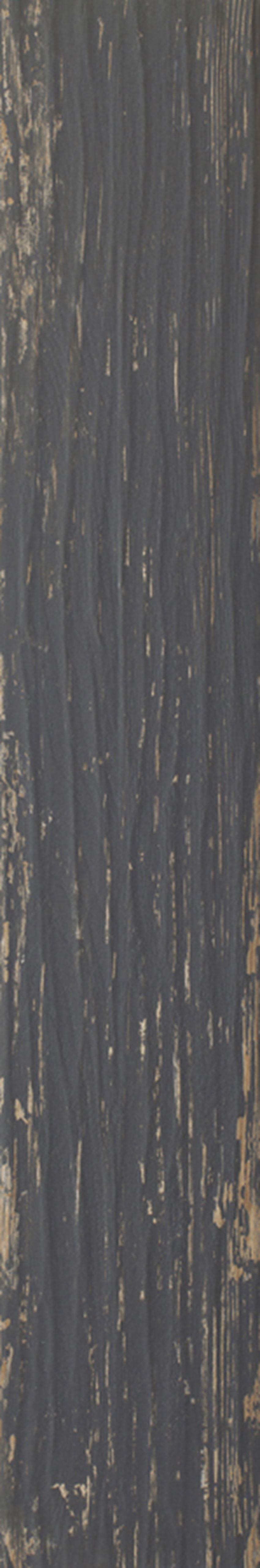 Płytka ścienno-podłogowa 19,8x119,8 cm Paradyż Herrera Nero Gres Szkl. Rekt. Mat.