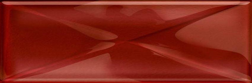 Dekoracja uniwersalna Opoczno glass red inserto new OD660-101