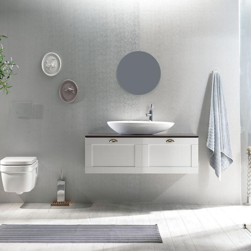 Umywalka nablatowa CeraStyle Olive 071300-u