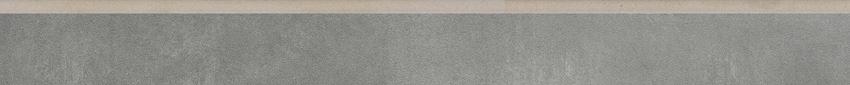 Płytka cokołowa 8x79,7 cm Cerrad Lukka grafit