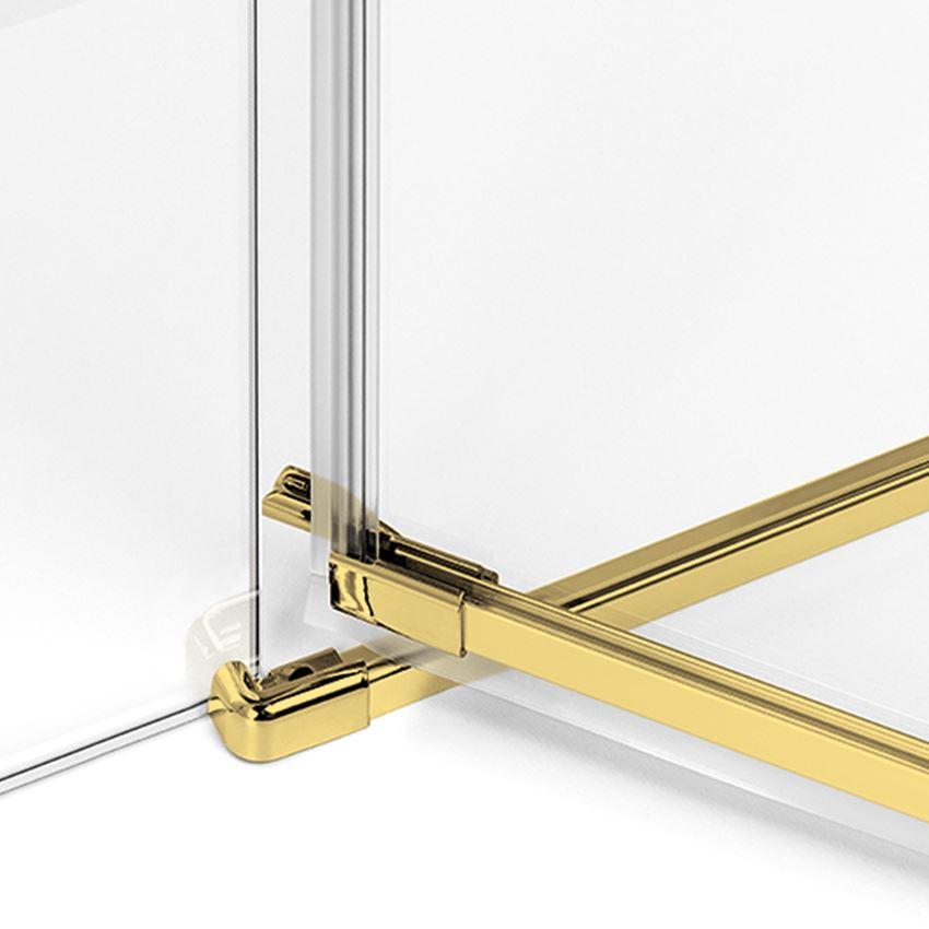 Rynienka z listwą progową New Trendy Avexa Gold
