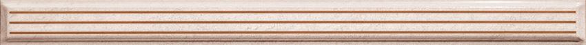 Listwa ścienna 36x2,8 cm Domino Navara beige STR