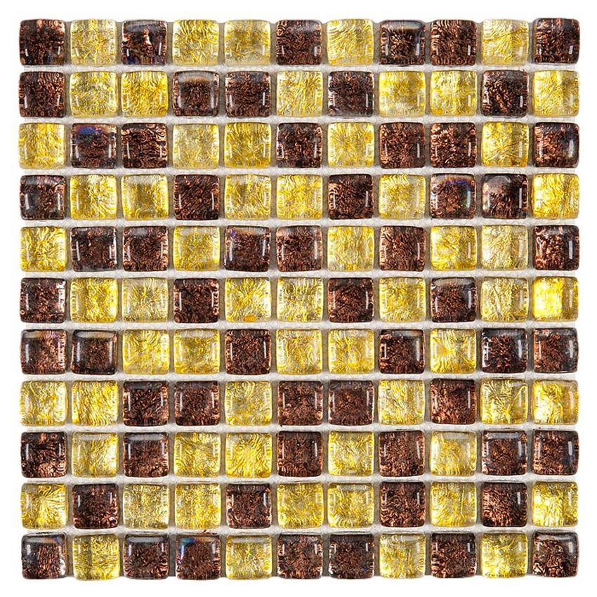 Mozaika 30x30 cm Dunin Fat Cube Fat Cube Amber mix 25