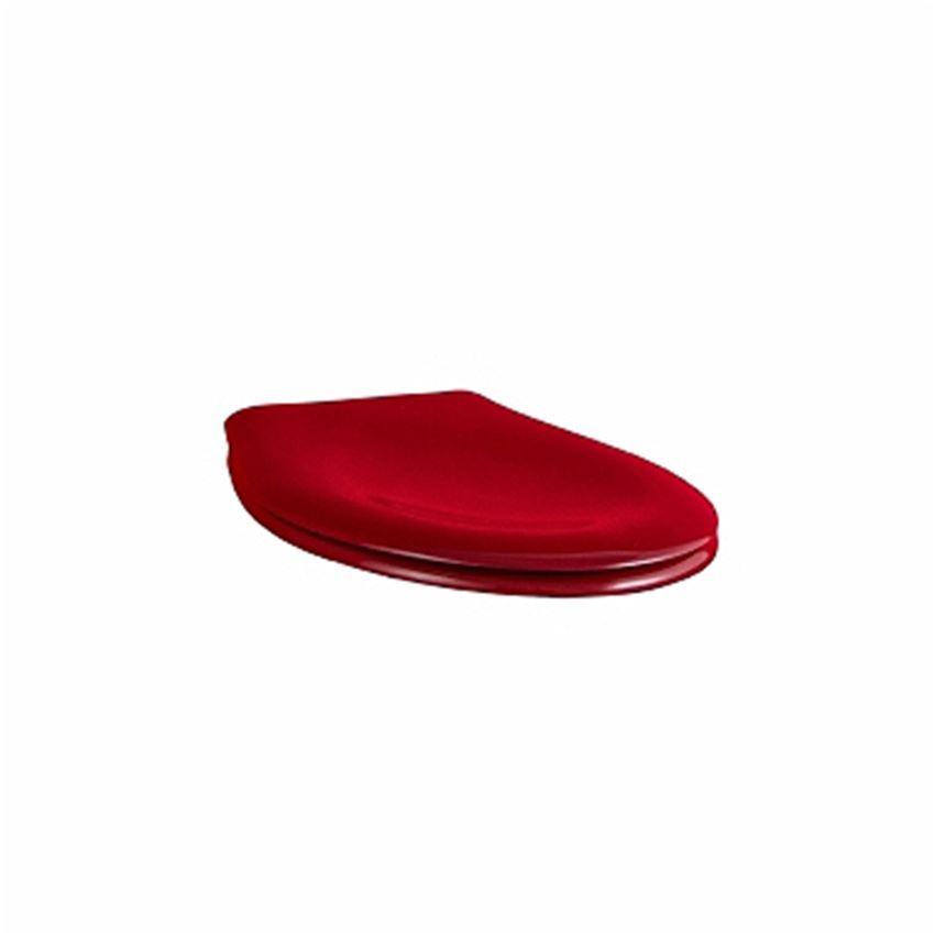 Deska sedesowa antybakteryjna czerwona Koło Nova Pro Junior
