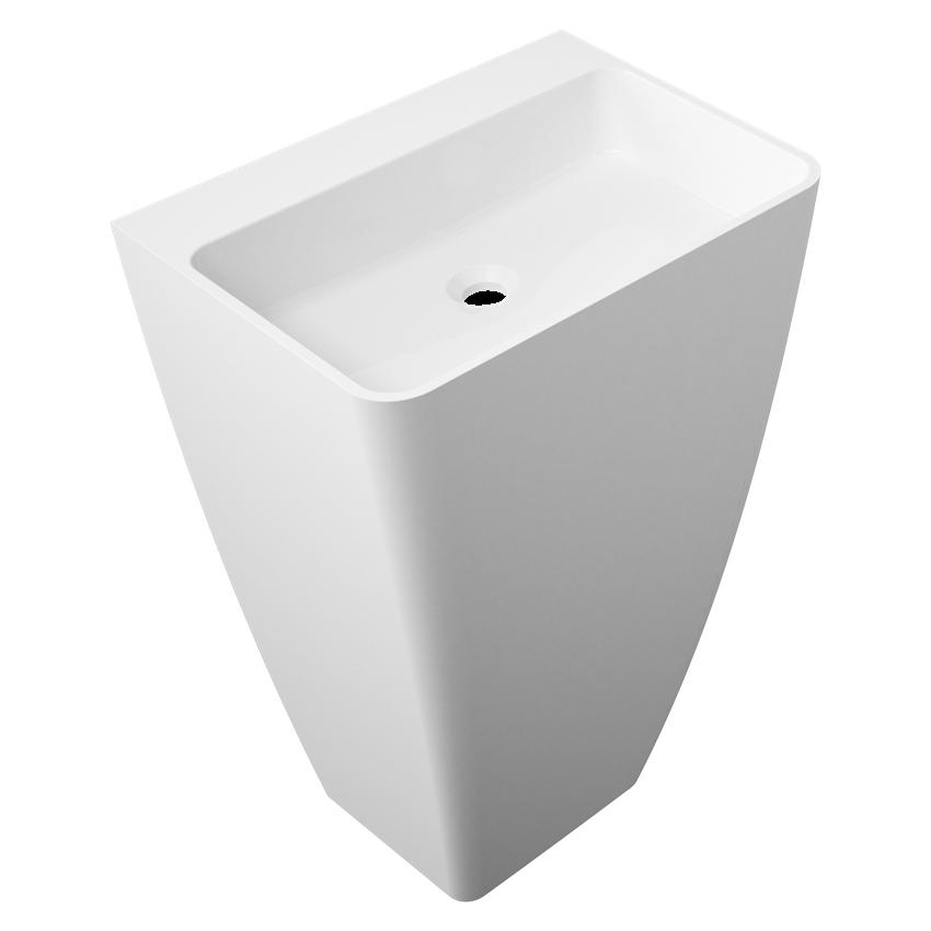 Umywalka prostokątna 55x43x85 cm Omnires Parma