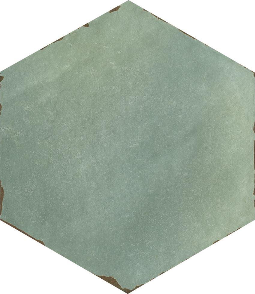 Płytka dekoracyjna 14x16 cm Azario Capri Bettina Blue Gres Mat.