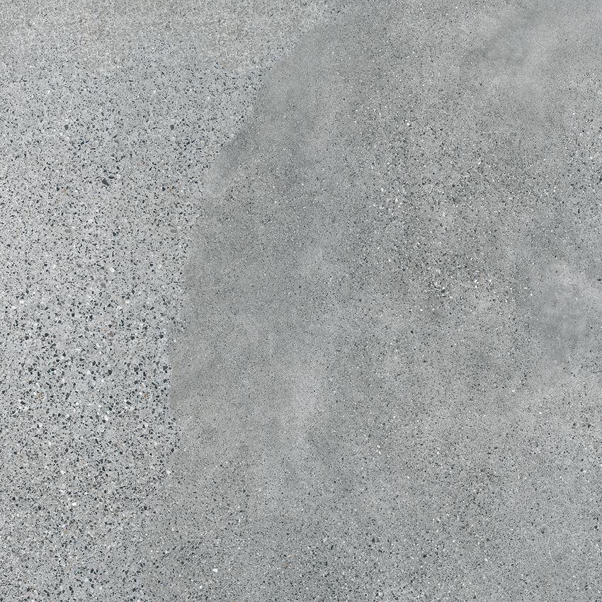 Płytka ścienno-podłogowa 119,8x119,8 cm Tubądzin Terrazzo grey MAT