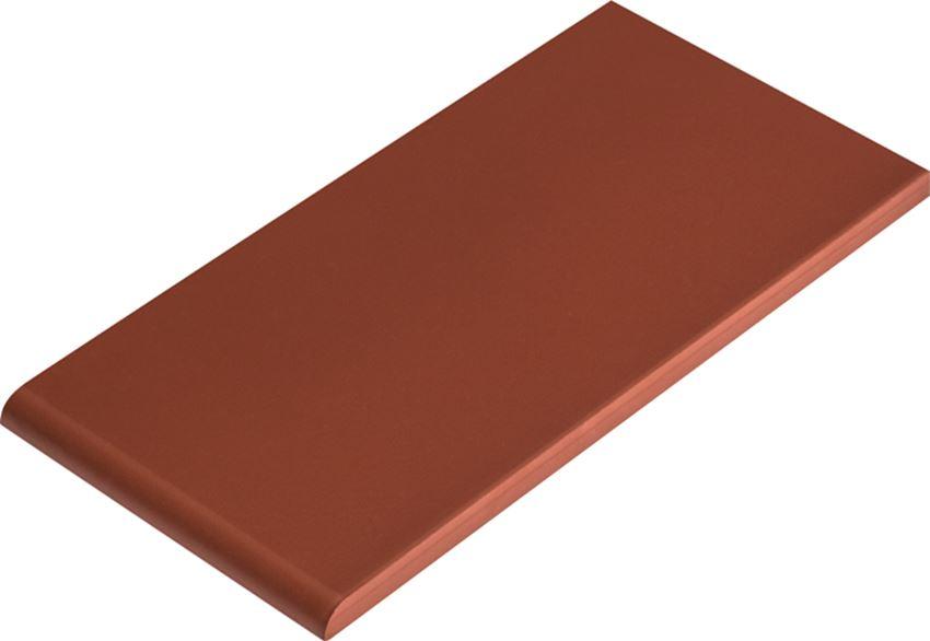 Płytka parapetowa 13,5x24,5 cm Cerrad Burgund