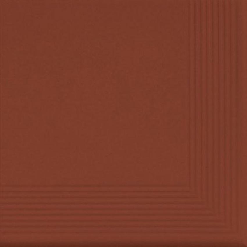 Płytka stopnicowa 30x30 cm Cerrad Rot