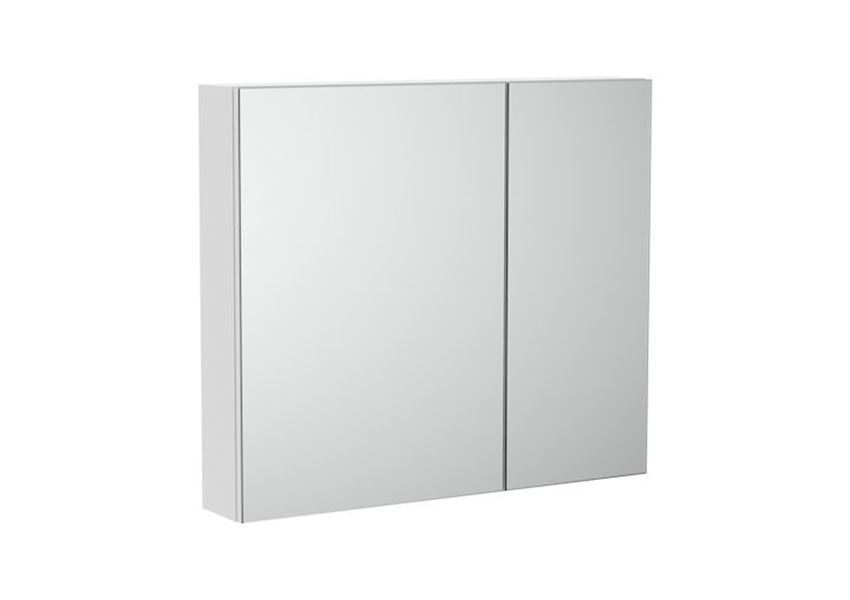 Szafka łazienkowa z lustrem 80x14,6x70 cm Roca Luna