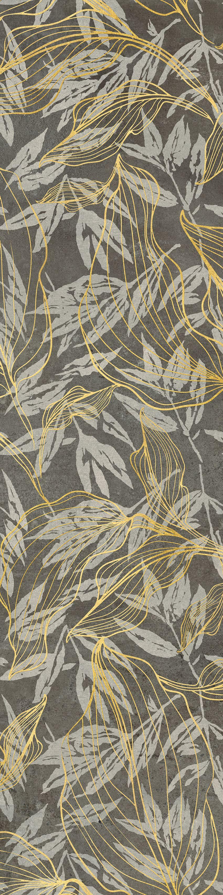 płytka dekoracyjna Cerrad Softcement graphite flower 30x120