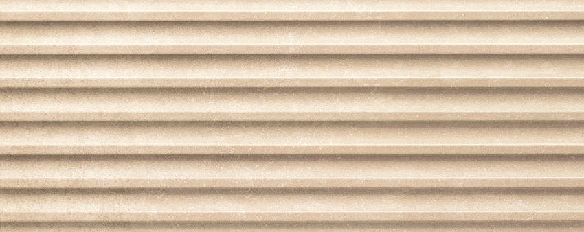 Płytka ścienna 29,8x74,8 cm Tubądzin Veridiana beige STR