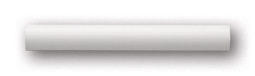 Profil ścienny biały 20x2 Tubądzin Majolika