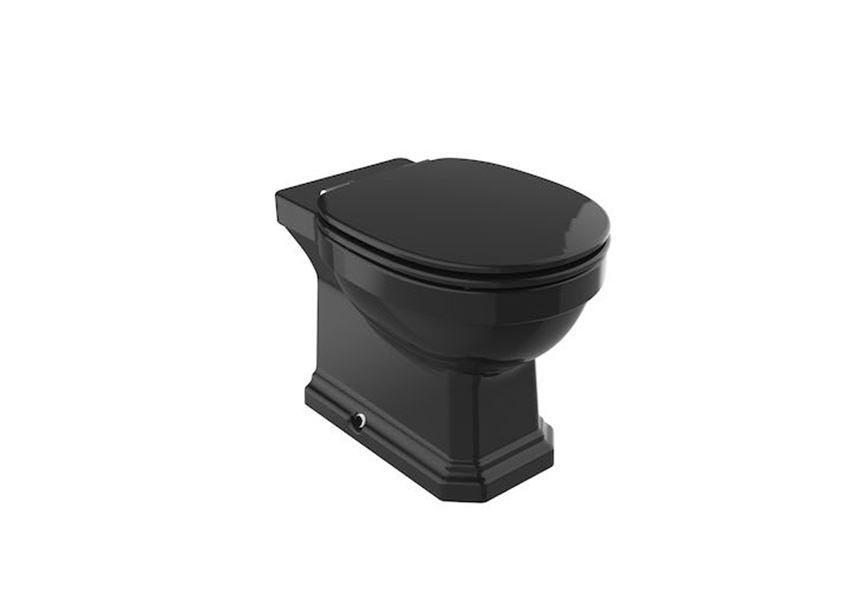 Miska WC Rimless stojąca o/podwójny 37x56x40 cm Roca Carmen