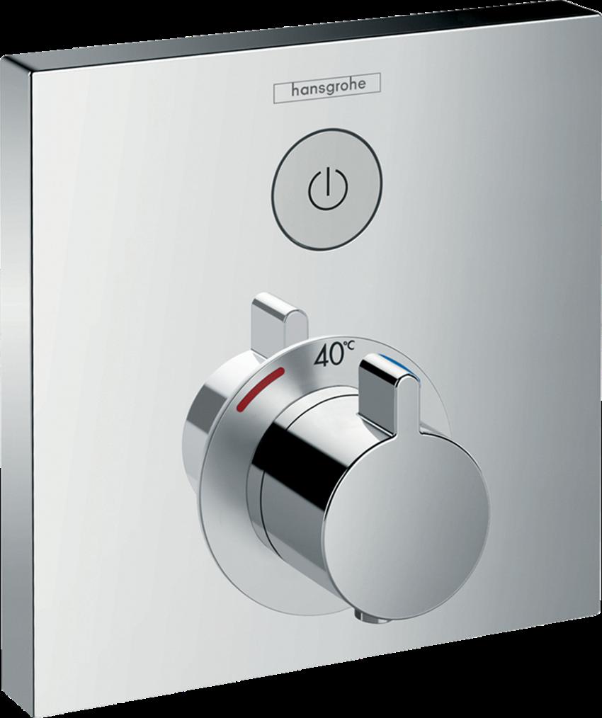 Bateria termostatyczna do 1 odbiornika element zewnętrzny Hansgrohe ShowerSelect