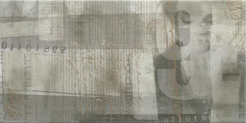 Dekoracja ścienna 30x60 cm Paradyż Ermeo Grys inserto B