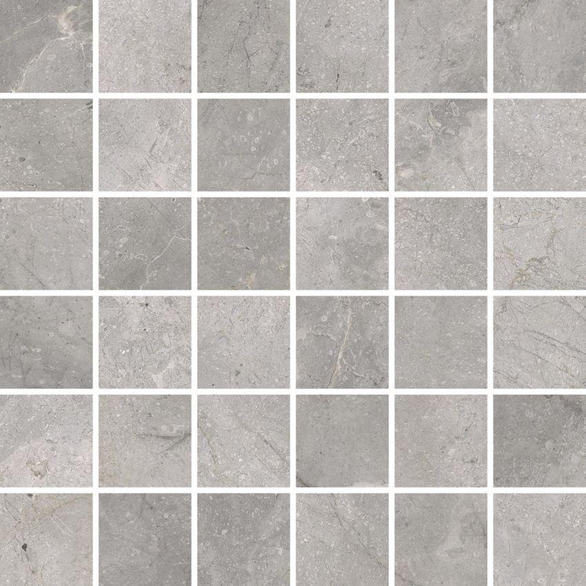 Mozaika, 30x30 cm Cerrad Masterstone Silver POLER mozaika