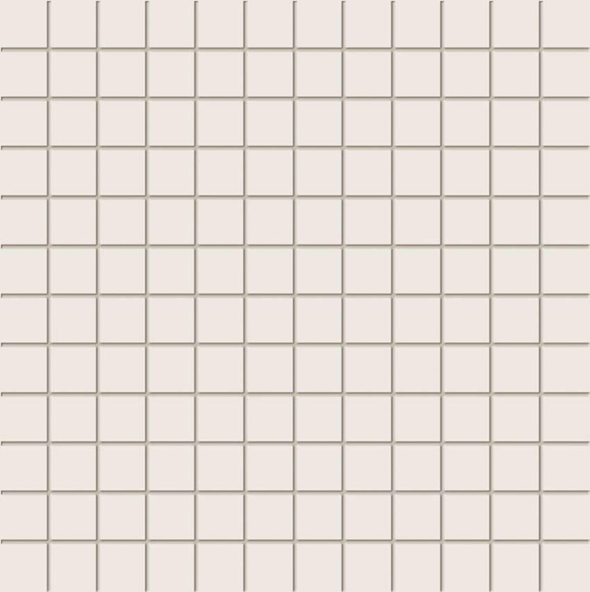 Mozaika ścienna 29,8x29,8 cm Tubądzin Tokyo White A