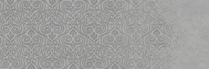 Dekor ścienny 29,5x89,5 cm Azario Atienet Delicate Gris B