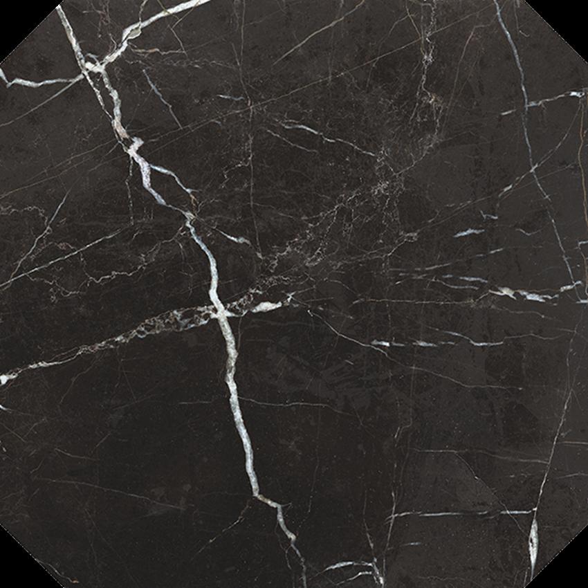 Dekor 59,7x59,7 cm Nowa Gala Magic Black