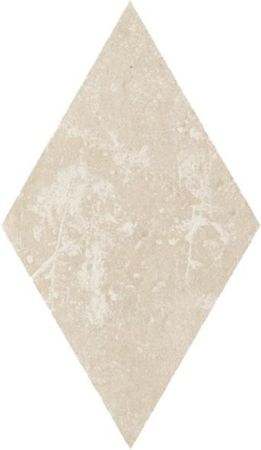 Dekoracja podłogowa 14,6x25,2 cm Paradyż Cotto Crema Romb