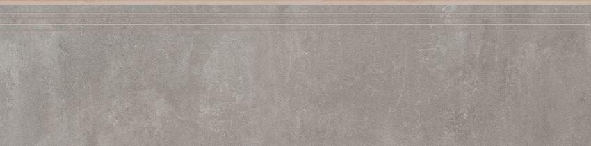 Płytka stopnicowaa 29,7x119,7 cm Cerrad Tassero gris