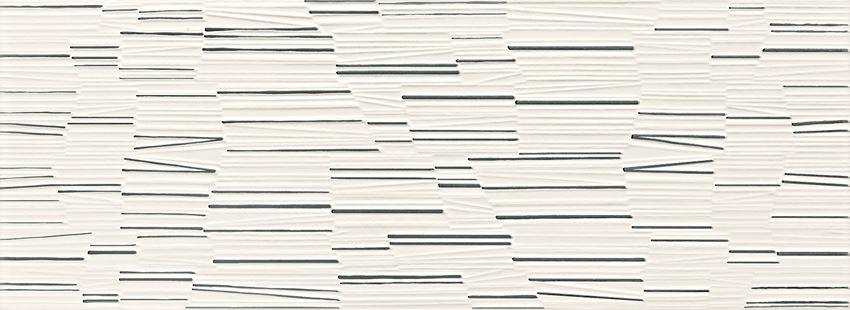 Płytka dekoracyjna 32,8x89,8 cm Azario Mareda white dekor