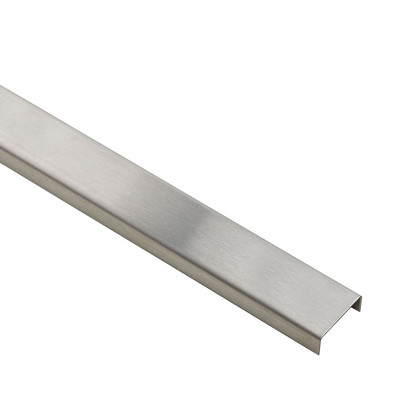 profil dekoracyjny Azario Profil Hard Steel Ins. 23x2700 mm