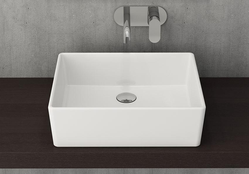 Umywalka nablatowa 50 cm Glossy White Bocchi Milano