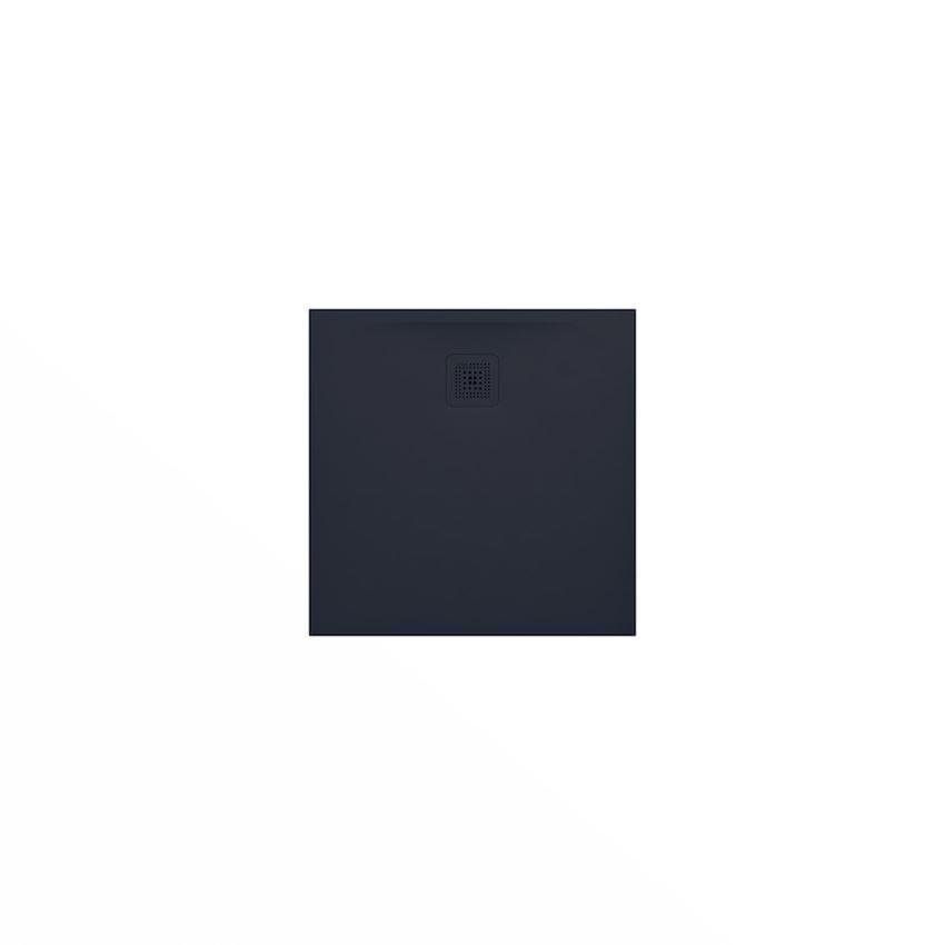Ultrapłaski brodzik kwadratowy grafitowy 80x80x2,8 cm Laufen Pro